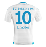 2015-16 Schalke Away Shirt (Draxler 10)