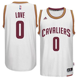 Mens Cleveland Cavaliers Kevin Love adidas White New Swingman Home Jersey