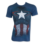 CAPTAIN AMERICA Suit Subway Costume Tee Shirt