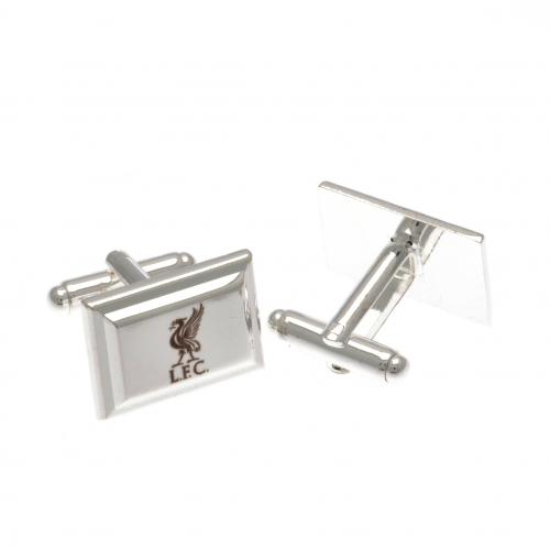 Liverpool F.C. Silver Plated Cufflinks