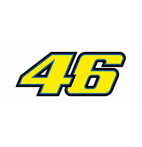Sticker 46 valentino rossi - Rossi 46 Sticker 2015 For Only 163 6 99 At Merchandisingplaza Uk