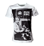 EINSTEIN Men's Run EMC T-Shirt, Small, White