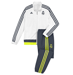 2015-2016 Real Madrid Adidas Presentation Tracksuit (White)