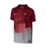 2015-2016 AS Roma Nike Pre-Match Training Jersey (Red)