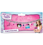 Violetta Wristband with metal charms