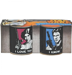 Star Wars Mini Mugs Set  I Love You 2 Pack