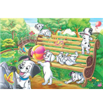 One Hundred and One Dalmatians Puzzles 142439
