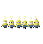 Despicable me Plush Toy with clip 13 cm