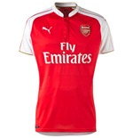2015-2016 Arsenal Puma Home Ladies Shirt