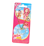 Mia and me Necklace and Charm