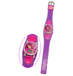 Mia And Me - LCD watch with leather band
