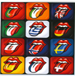The Rolling Stones Metal Magnet - Tongue Evolution