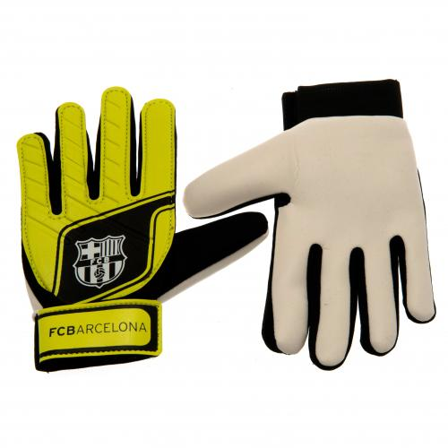 F.C. Barcelona Goalkeeper Gloves Fluo Kids
