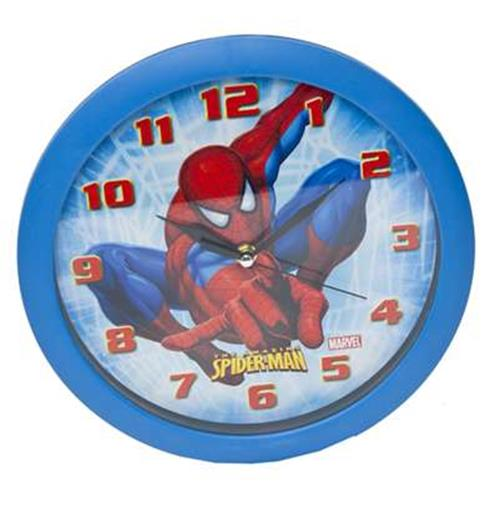 Official Spiderman Wall Clock Buy Online On Offer