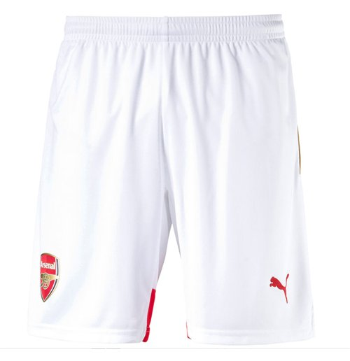2015-2016 Arsenal Home Football Shorts