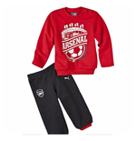 2015-2016 Arsenal Puma Mini Cats Jogger Set (Infants)