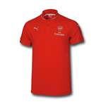 2015-2016 Arsenal Puma Performance Polo Shirt (Red) - Kids