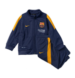 2015-2016 Barcelona Nike Baby Tracksuit (Navy) - Infants