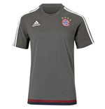 2015-2016 Bayern Munich Adidas Training Tee (Grey)