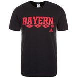 2015-2016 Bayern Munich Adidas Core Tee (Black)