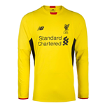 2015-2016 Liverpool Third Goalkeeper Shirt (Yellow)