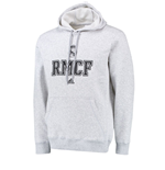 2015-2016 Real Madrid Adidas Cotton Hoody (Light Grey)