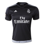 2015-2016 Real Madrid Adidas Home Goalkeeper Shirt (Kids)