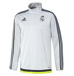 2015-2016 Real Madrid Adidas Training Top (White)