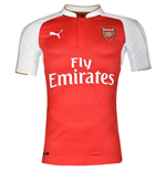 2015-2016 Arsenal Puma Home Authentic Football Shirt
