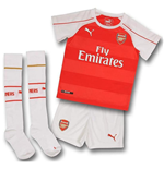 2015-2016 Arsenal Home Little Boys Mini Kit