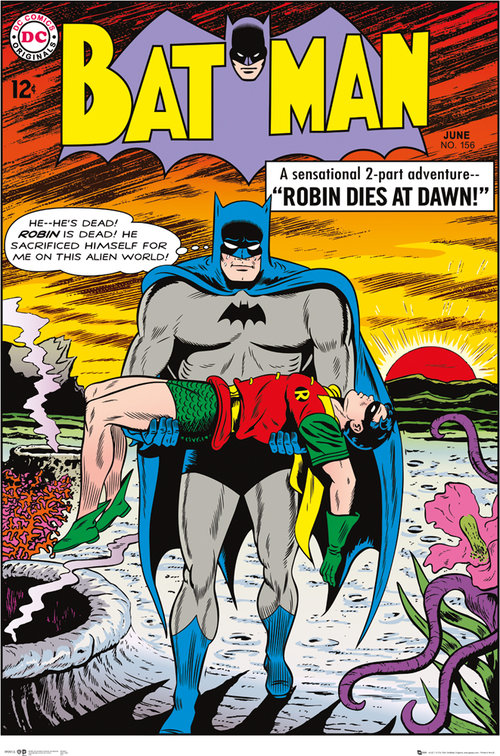 Batman Comic Robin Dies at Dawn Maxi Poster