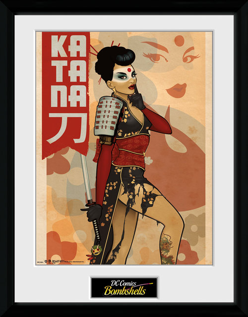 DC Comics Katana Framed Collector Print