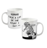2000AD RO-JAWS Mug Humans Talk A Lot