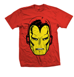 Marvel Comics T-Shirt Iron Man Big Head