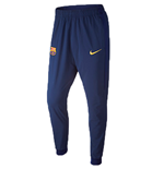 2015-2016 Barcelona Nike Revolution Stretch Pants (Navy)