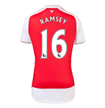 2015-16 Arsenal Home Shirt (Ramsey 16) - Kids