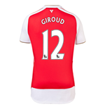 2015-16 Arsenal Home Shirt (Giroud 12) - Kids