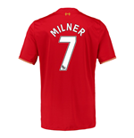 2015-16 Liverpool Home Shirt (Milner 7)