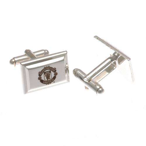 Manchester United F.C. Silver Plated Cufflinks