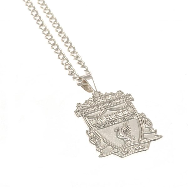 Liverpool F.C. Silver Plated Pendant & Chain XL