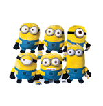 Despicable Me 2 Deluxe Plush Figures 28 cm Assortment (6)