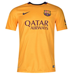 2015-2016 Barcelona Away Nike Shirt (Kids)
