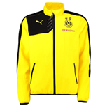 2015-2016 Borussia Dortmund Puma Leisure Jacket (Yellow) - Kids