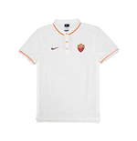 2015-2016 AS Roma Nike Authentic League Polo Shirt (White)