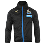 2015-2016 Newcastle Puma Rain Jacket (Black)