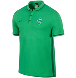 2015-2016 Werder Bremen Nike Authentic League Polo Shirt (Green)
