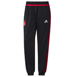 2015-2016 Ajax Adidas Sweat Pants (Black)