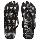 New Zealand All Blacks Haka Flip Flops