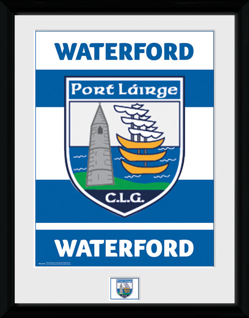 GAA Waterford Framed Collector Print
