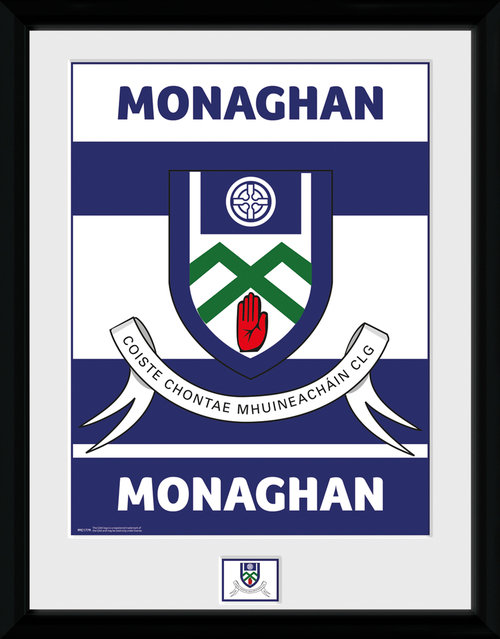 GAA Monaghan Framed Collector Print